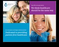 Concierge medicine brochure by Dedication Health